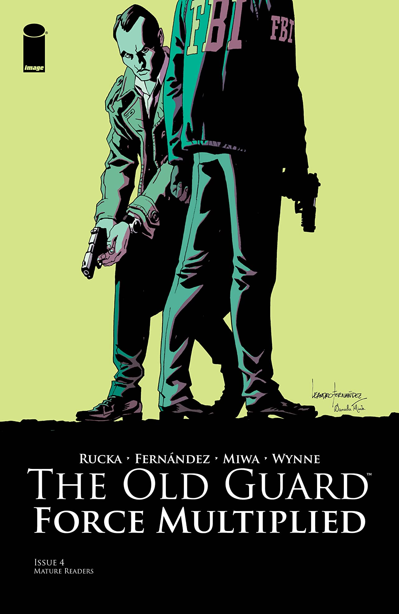 The Old Guard: Force Multiplied No.4