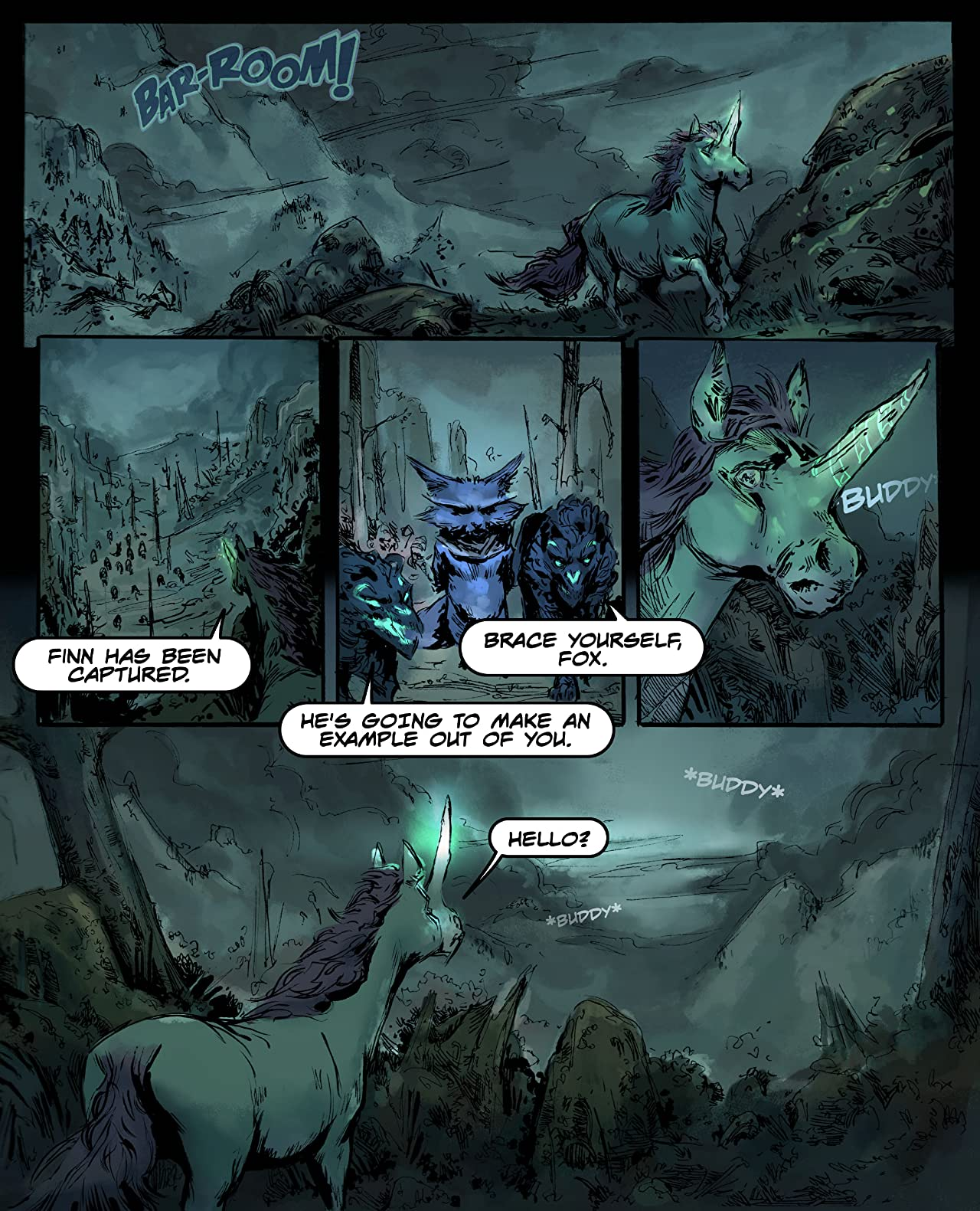 The Unicorn and the Fox #3: Voice, The Final Issue