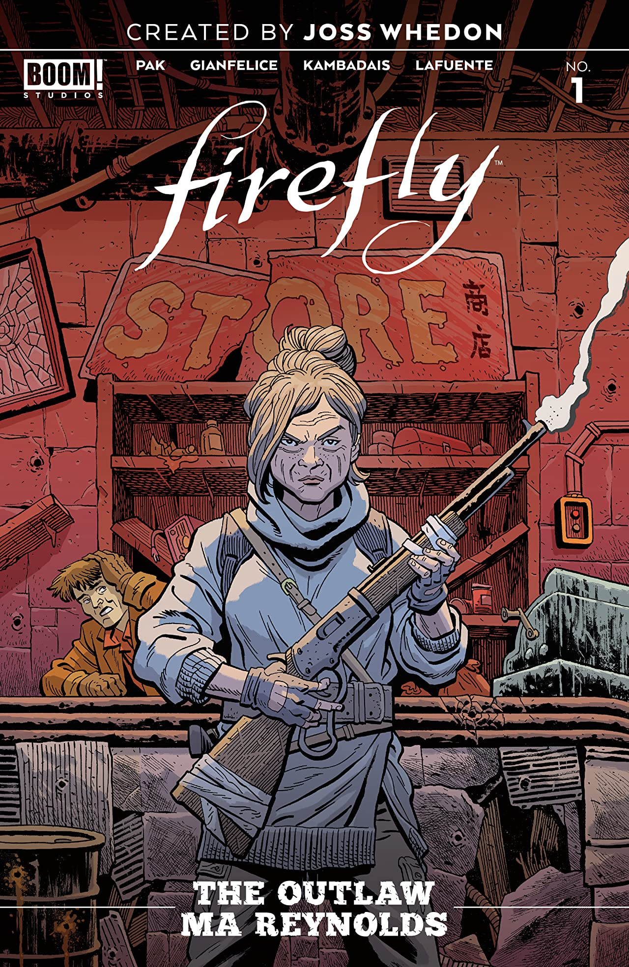 Firefly: The Outlaw Ma Reynolds No.1