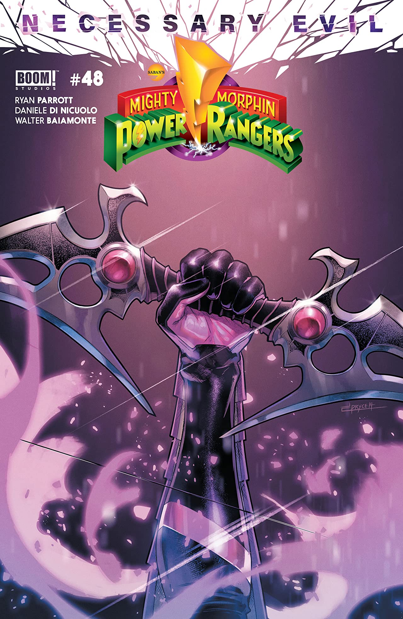 Mighty Morphin Power Rangers #48