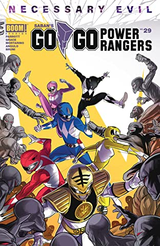 Saban's Go Go Power Rangers No.29