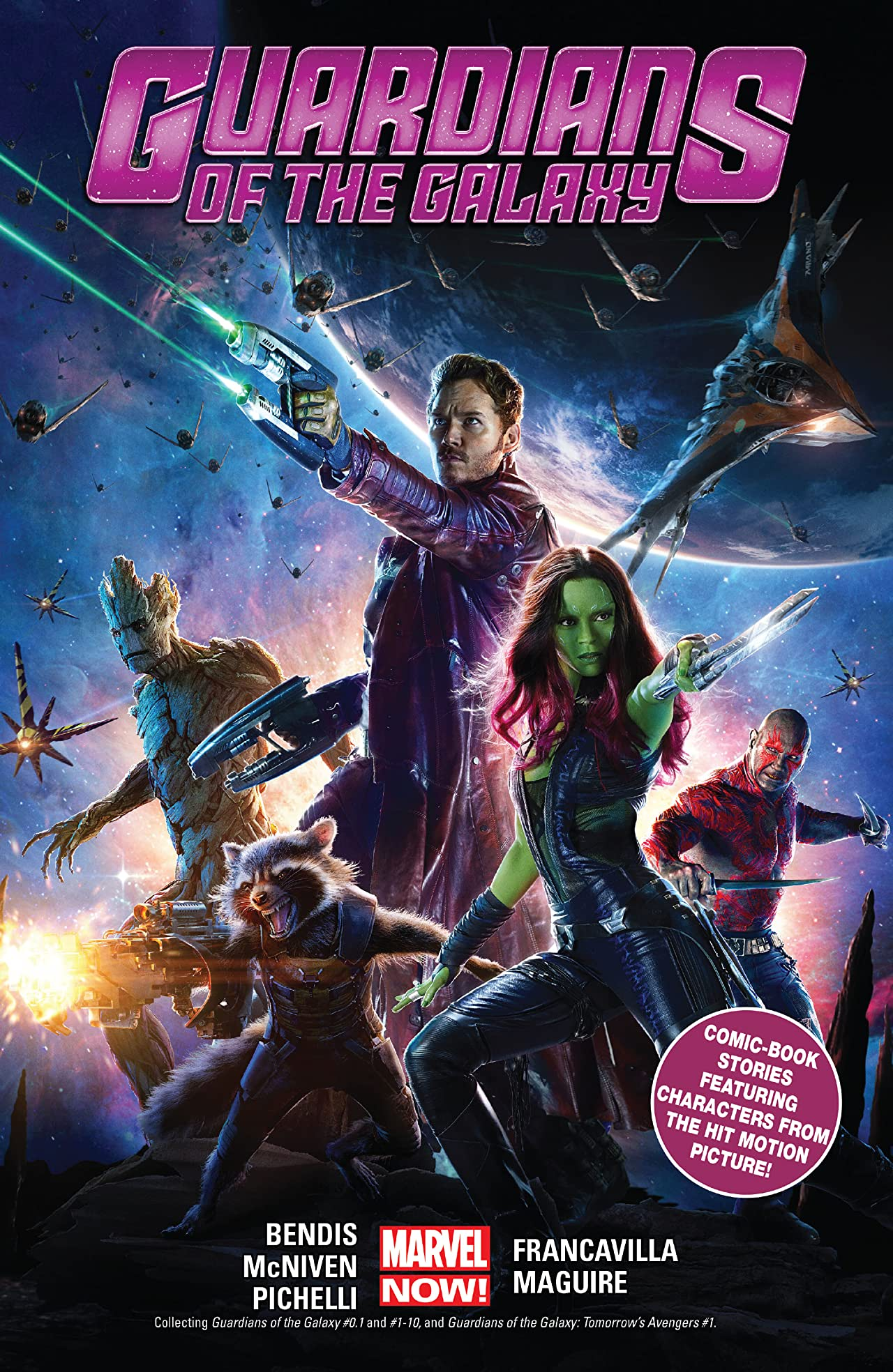 Guardians Of The Galaxy by Brian Michael Bendis Tome 1