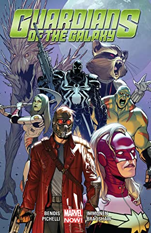 Guardians Of The Galaxy by Brian Michael Bendis Tome 2