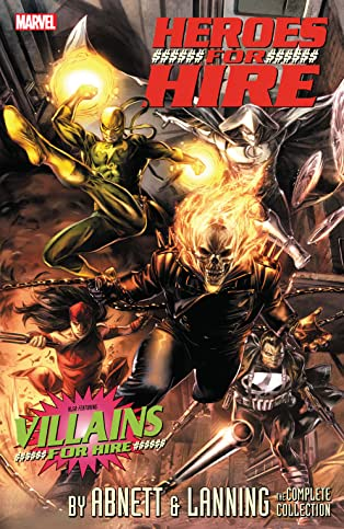 Heroes For Hire by Abnett & Lanning: The Complete Collection