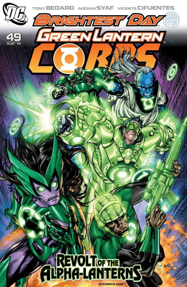 Green Lantern Corps (2006-2011) #49