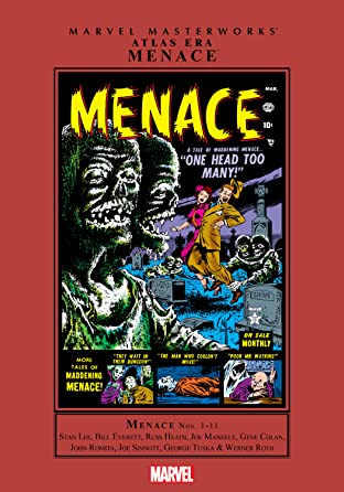 Atlas Era Masterworks Menace Vol. 1