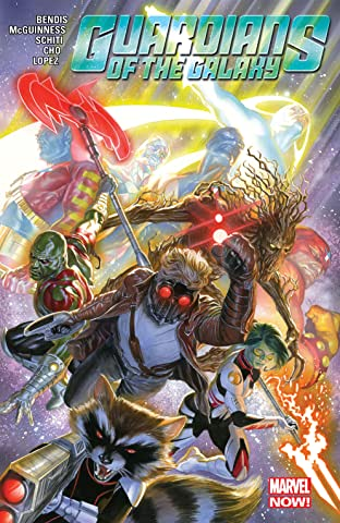 Guardians Of The Galaxy by Brian Michael Bendis Tome 3