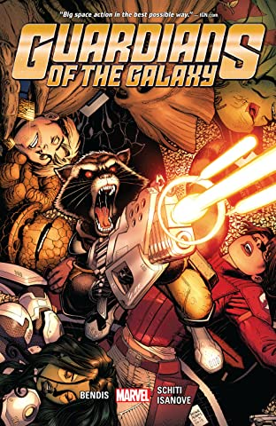 Guardians Of The Galaxy by Brian Michael Bendis Tome 4