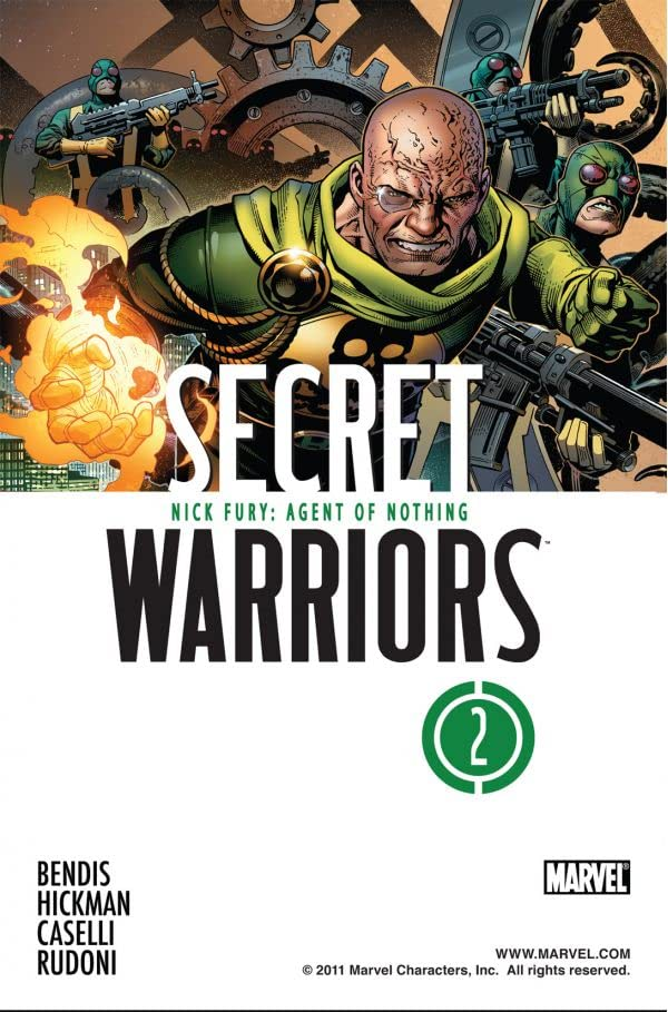 Secret Warriors (2008-2011) #2