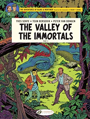 Blake & Mortimer Tome 26: The Valley of the immortals, Part 2