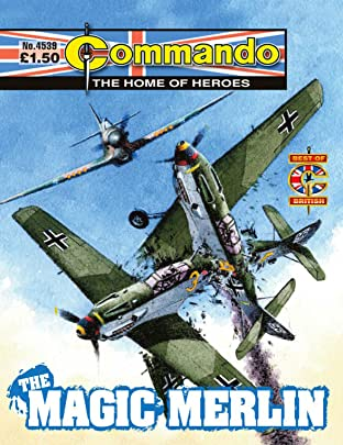 Commando #4539: The Magic Merlin