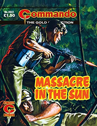 Commando #4541: Massacre In The Sun