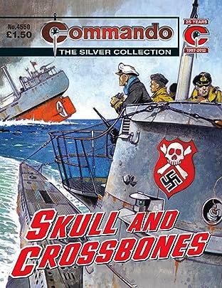 Commando #4550: Skull And Crossbones