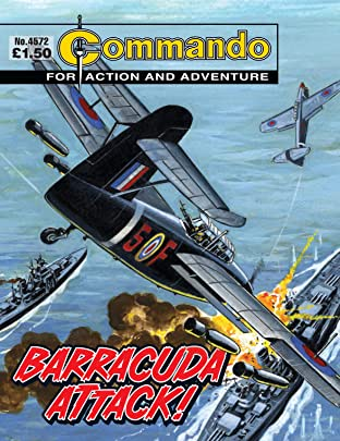 Commando #4572: Barracuda Attack!