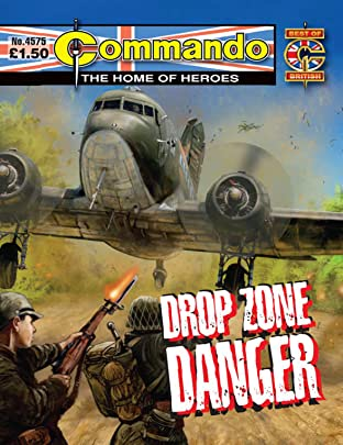 Commando #4575: Drop Zone Danger