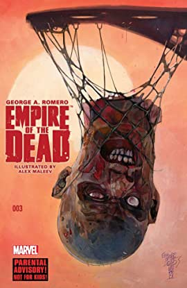 George Romero's Empire of the Dead: Act One #3 (of 5)