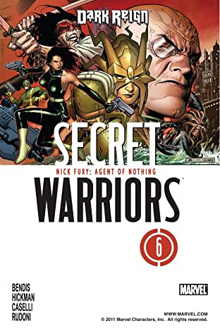Secret Warriors (2008-2011) #6