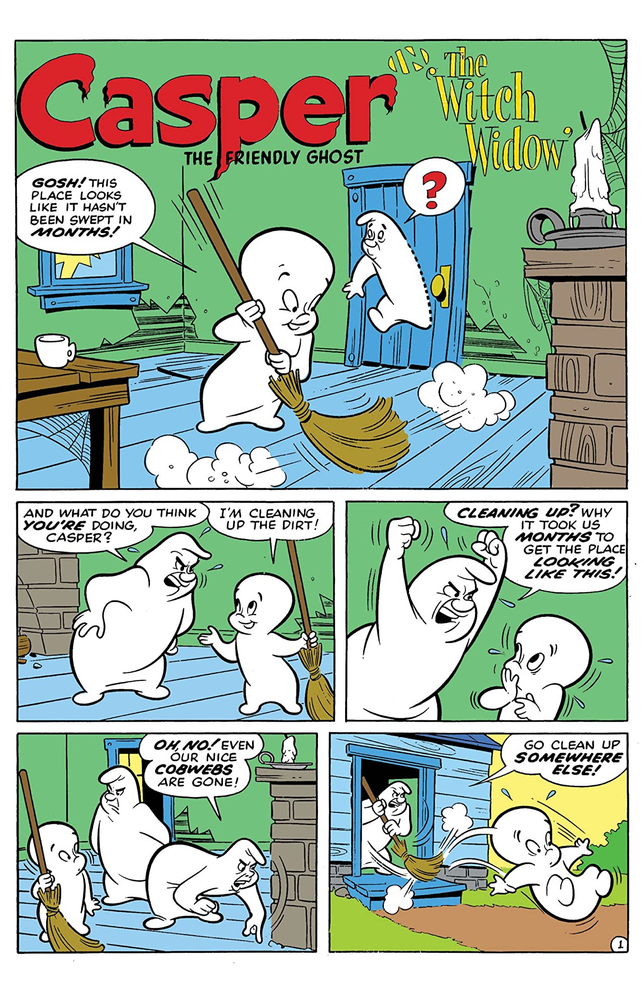 Casper Presents Wendy & The Witch Widow No.1