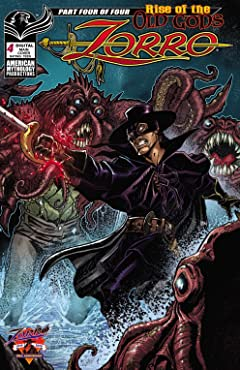 Zorro: Rise of the Old Gods #4