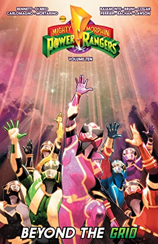 Mighty Morphin Power Rangers Tome 10
