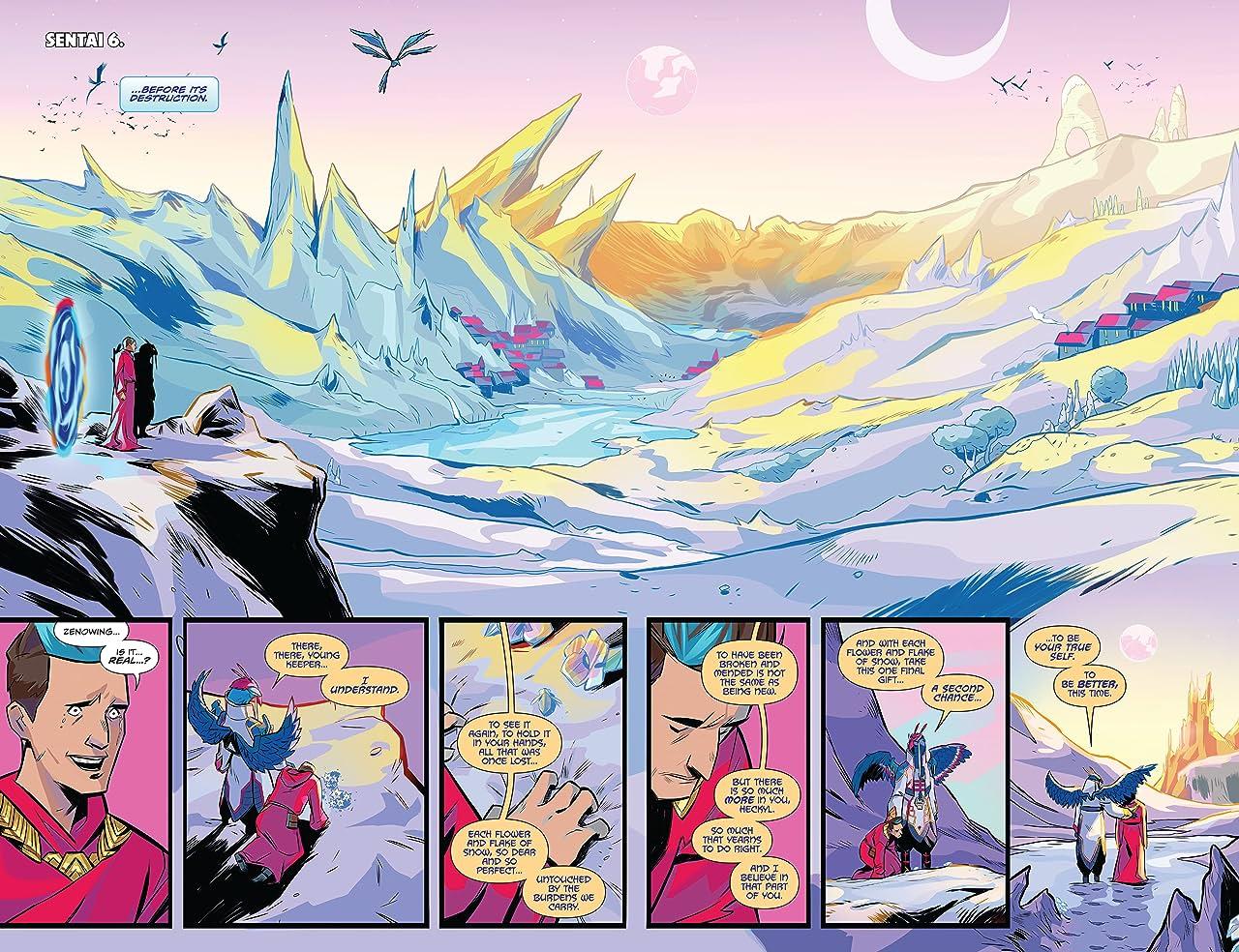 Mighty Morphin Power Rangers Vol. 10