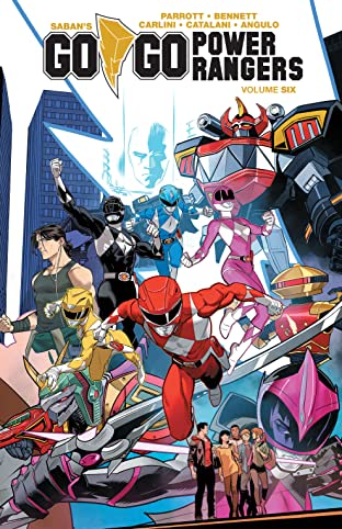 Saban's Go Go Power Rangers Tome 6