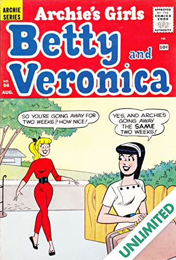 Archie's Girls Betty & Veronica #56
