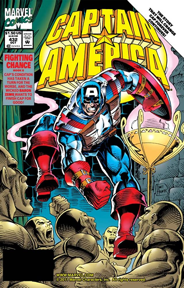Captain America (1968-1996) #432