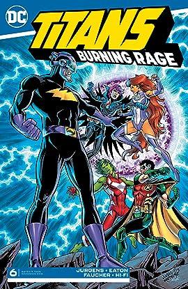 Titans: Burning Rage (2019-) #6