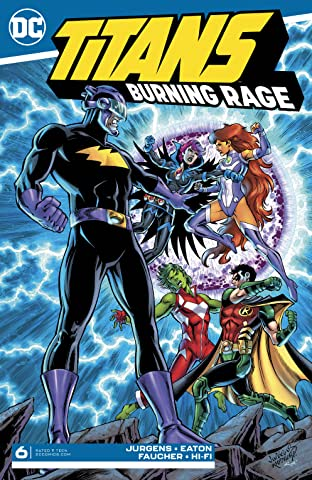 Titans: Burning Rage (2019-) #6
