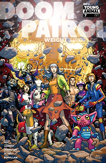 Doom Patrol: Weight of the Worlds (2019-) #7