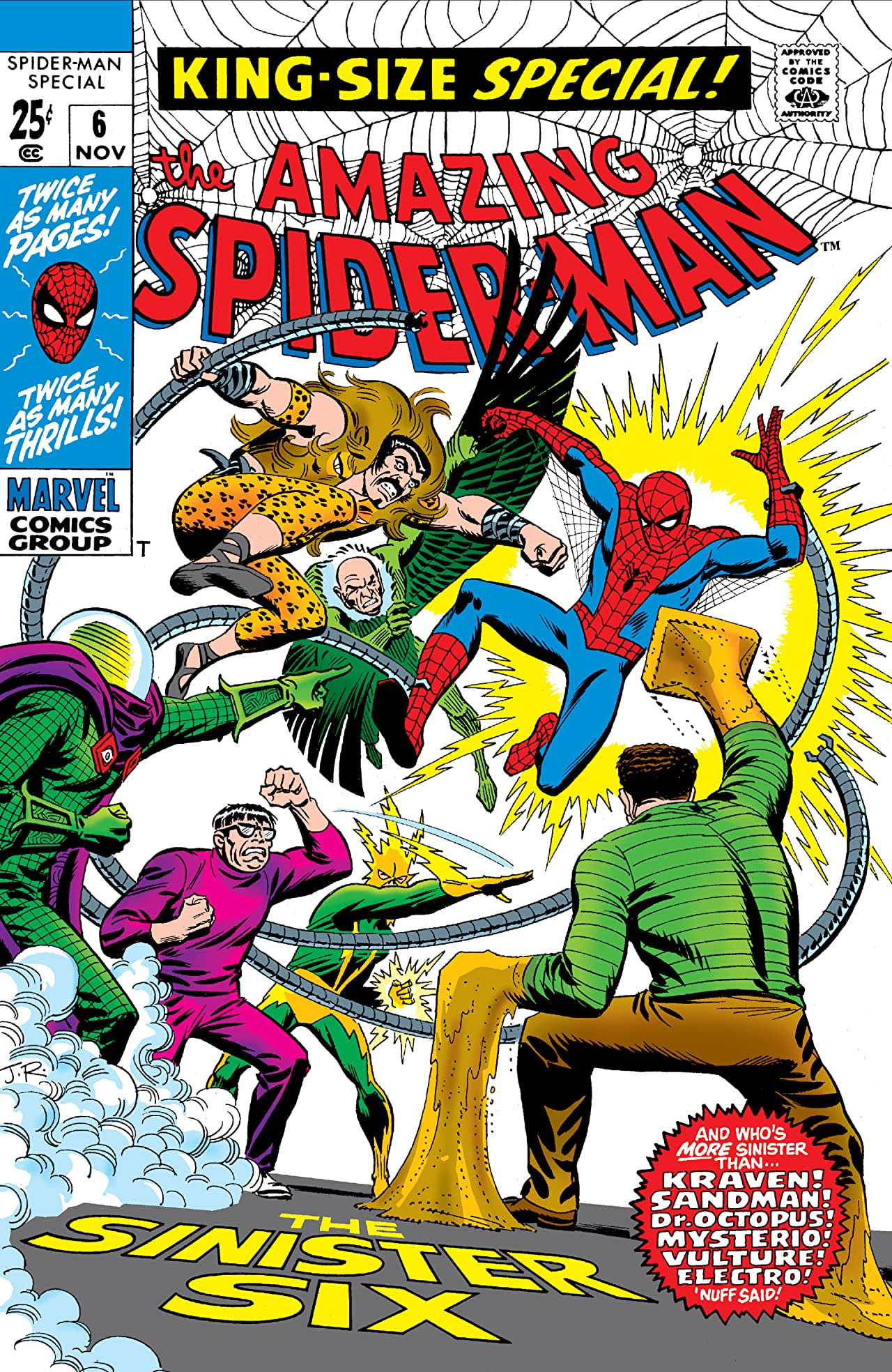 Amazing Spider-Man (1963-1998) Annual #6