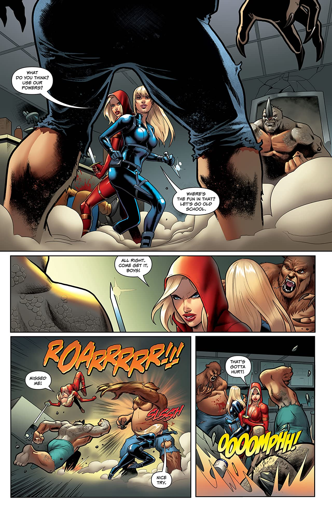 Red Agent #2: Island of Dr Moreau