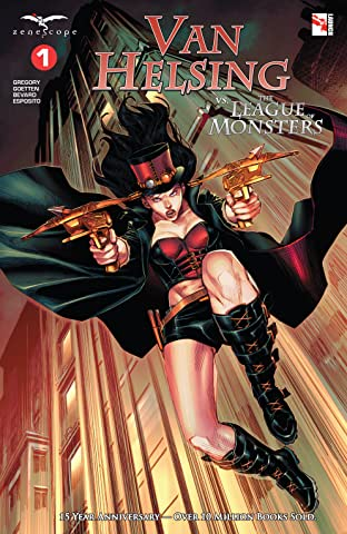 Van Helsing vs The League of Monsters No.1
