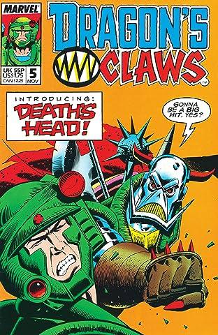 Dragon's Claws (1988-1989) No.5