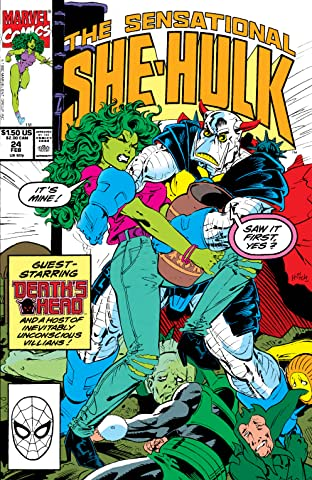 Sensational She-Hulk (1989-1994) #24
