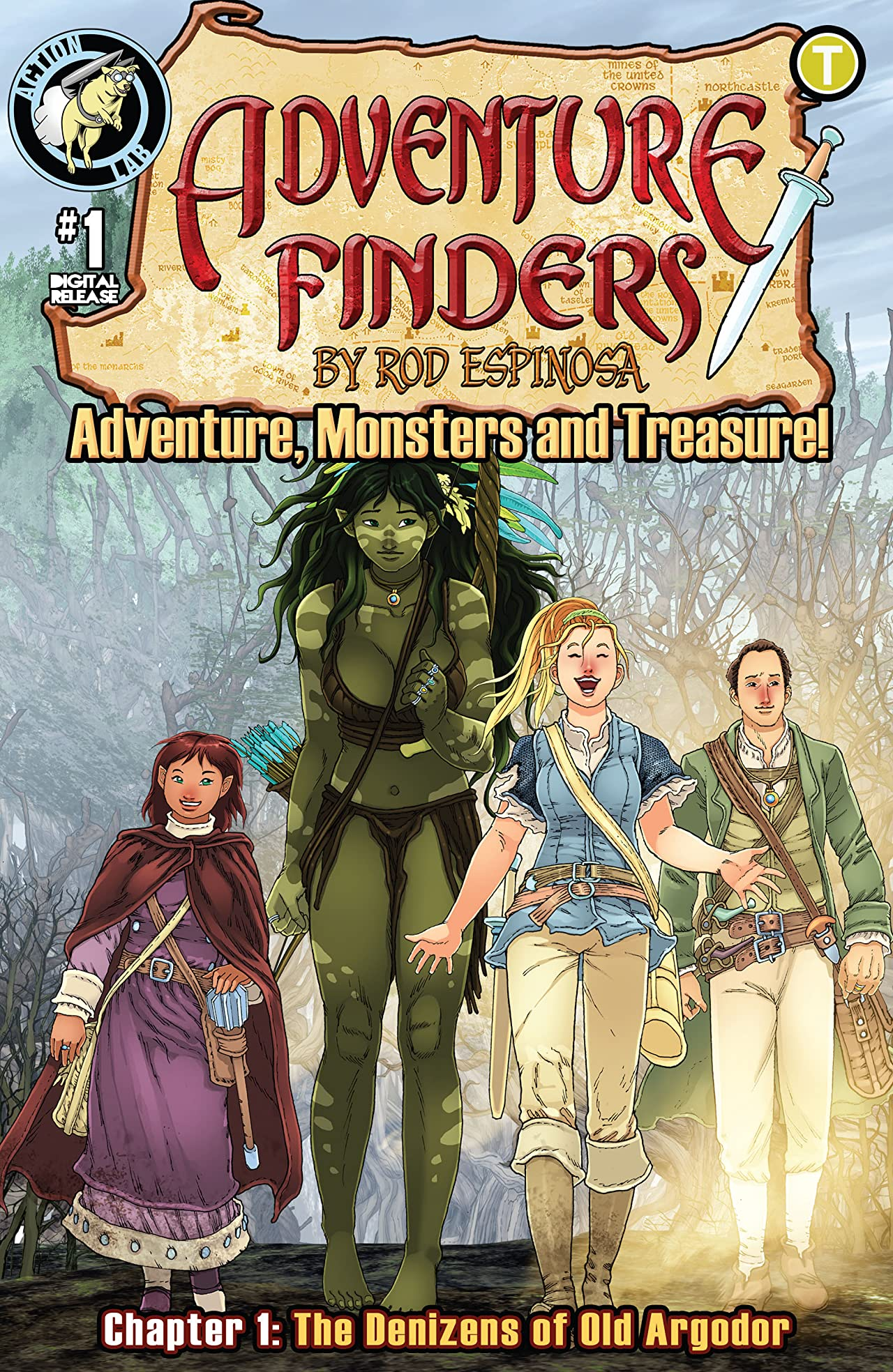 Adventure Finders: Adventure, Monsters and Treasure! #1