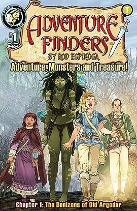 Adventure Finders: Adventure, Monsters and Treasure! #1