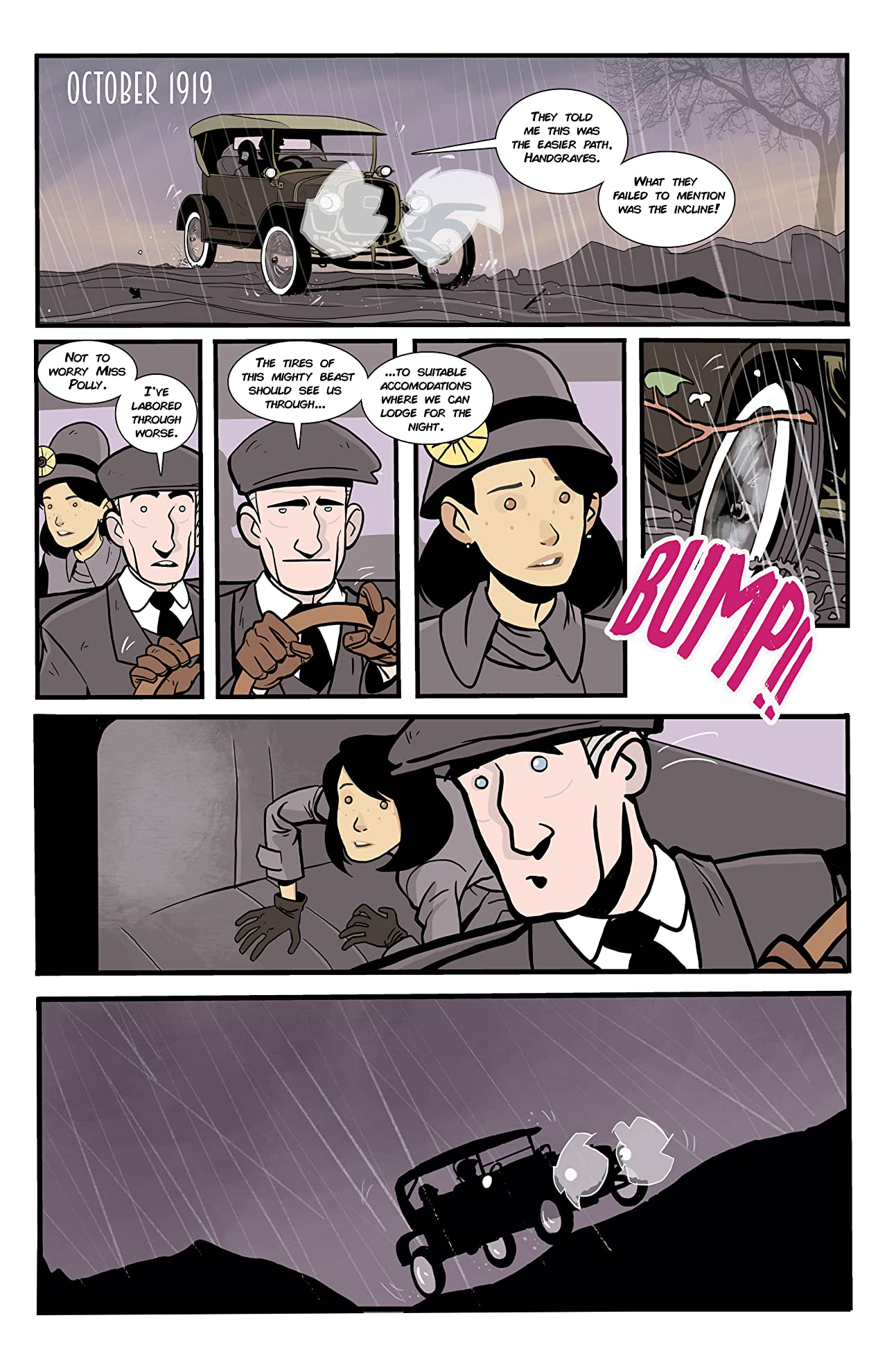Polly and Hangraves #1