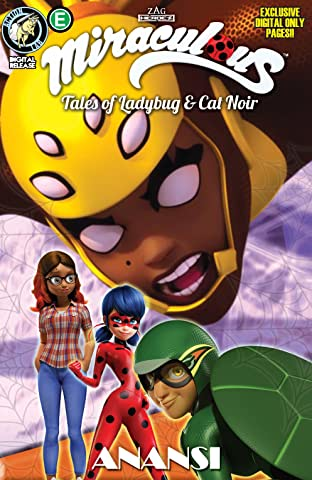 Miraculous: Tales of Ladybug and Cat Noir: Season Two No.17: Anasi