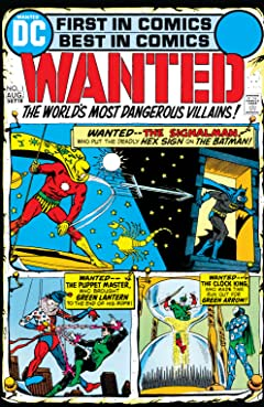 Wanted: The World's Most Dangerous Villains (1972-1973) No.1