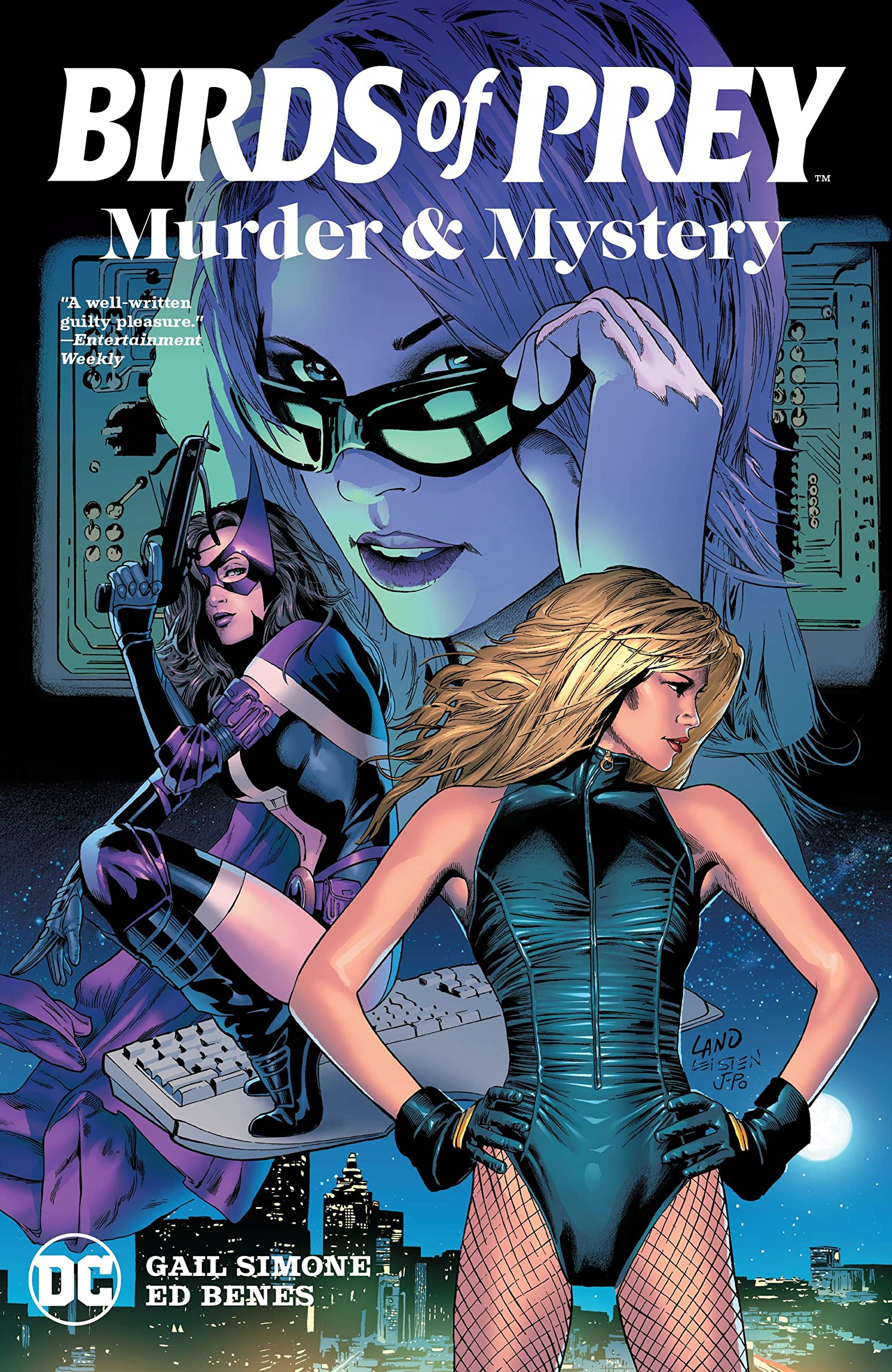 Birds Of Prey Murder And Mystery Comics By Comixology