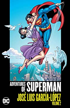 Adventures of Superman: Jose Luis Garcia-Lopez  Tome 2