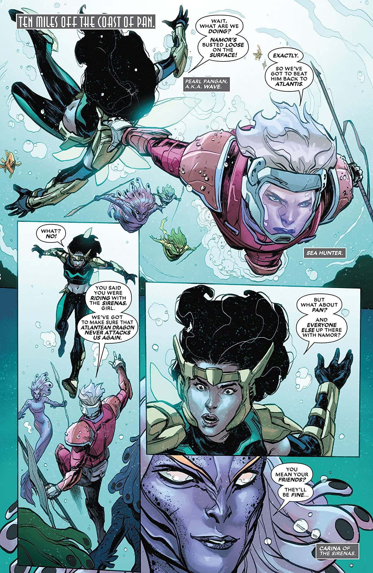 Atlantis Attacks (2020) #4 (of 5)
