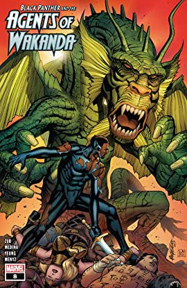 Black Panther And The Agents Of Wakanda (2019-) #8