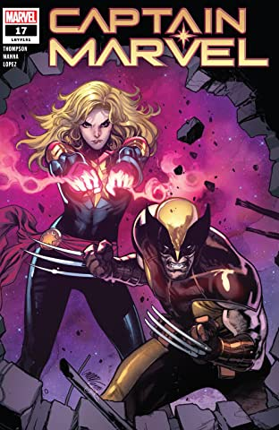 Captain Marvel (2019-) #17