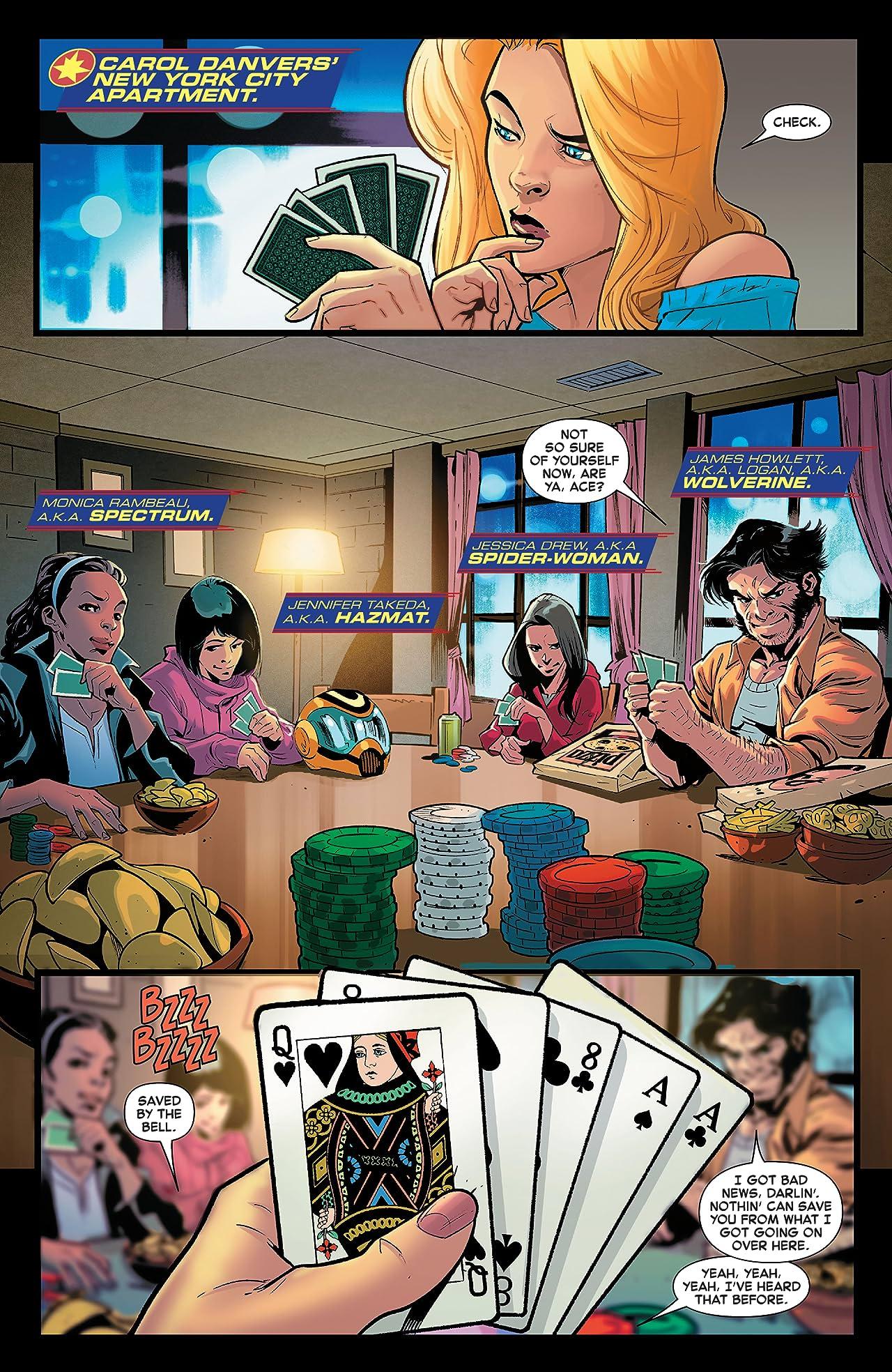 Captain Marvel (2019-) #17