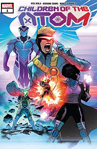 Children Of The Atom (2021-) #1