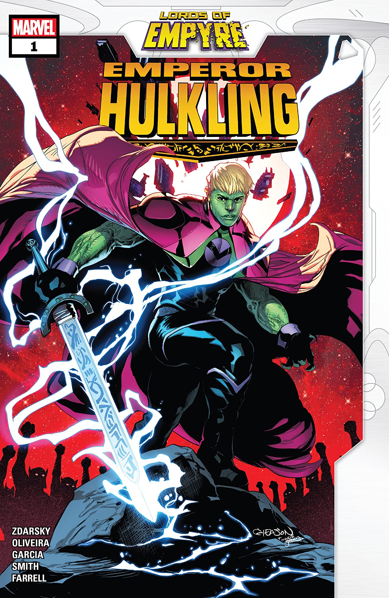 Lords Of Empyre: Emperor Hulkling (2020) #1