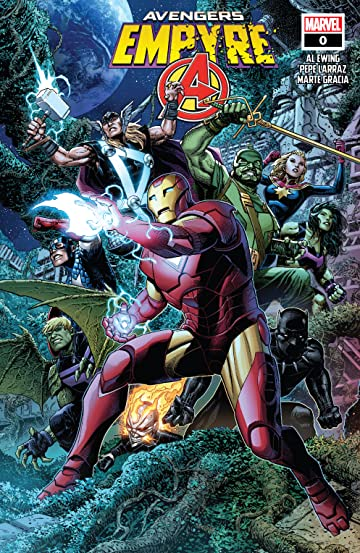 Empyre (2020) No.0: Avengers
